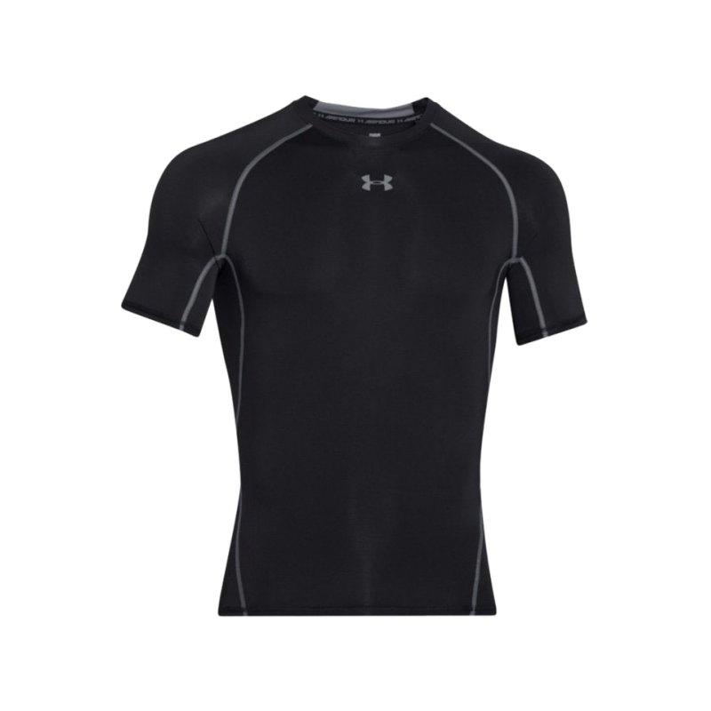 Under Armour Compression T-Shirt Heatgear F001 - schwarz