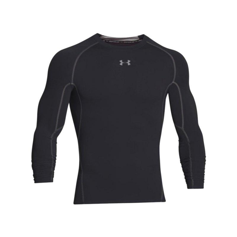 Under Armour LS Shirt Heatgear Compression F001 - schwarz
