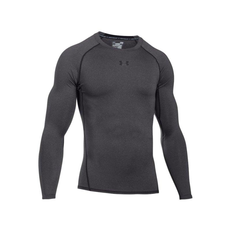 Under Armour LS Shirt Heatgear Compression F090 - grau