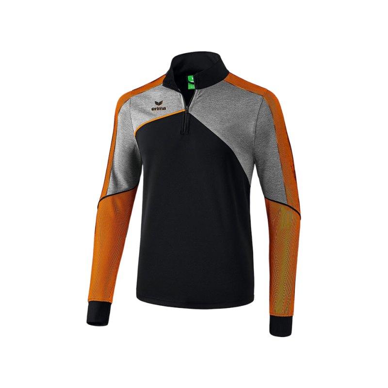 Erima Premium One 2.0 Trainingstop Kids Orange - schwarz