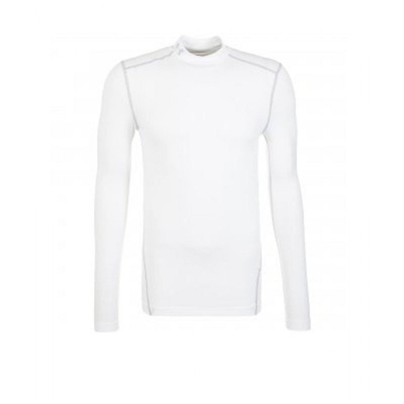 Under Armour Mock Coldgear Compression F100 - weiss