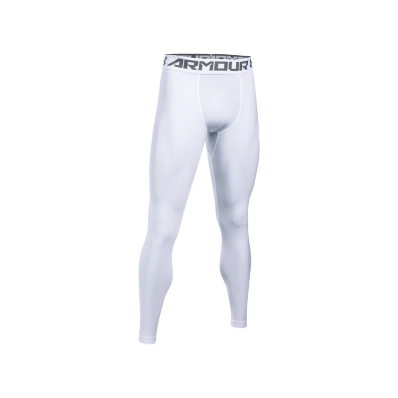 Under Armour HG 2.0 Tight Weiss F100 - weiss
