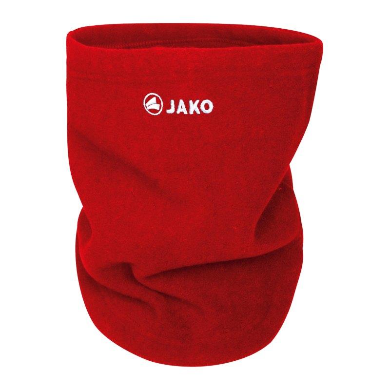 JAKO Neckwarmer Schlauchschal Gesichtsmaske F01 - rot