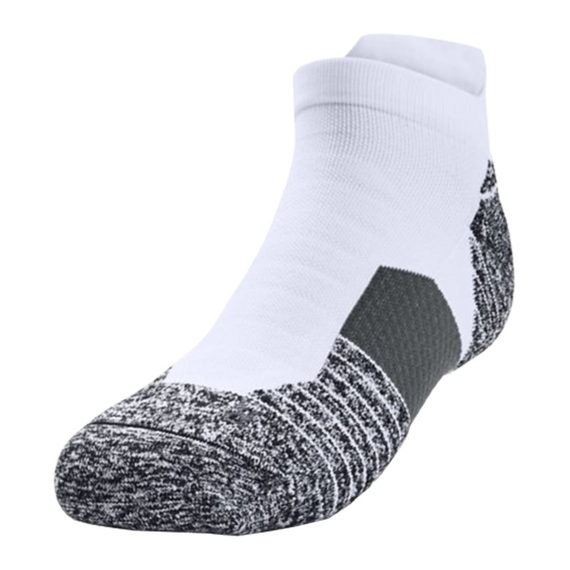 Under Armour Charged Cushion No Show Socken F102 - weiss