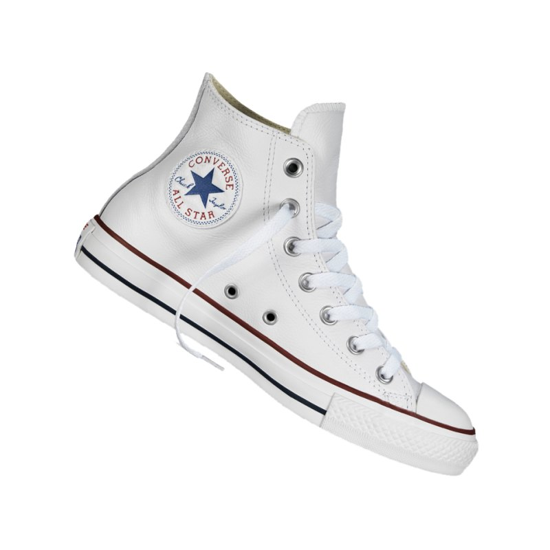 Converse Chuck Taylor AS High Leather Weiss - weiss
