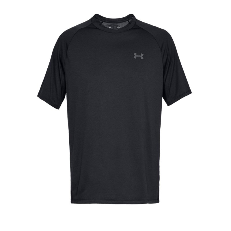 Under Armour Tech Tee T-Shirt Schwarz F001 - schwarz