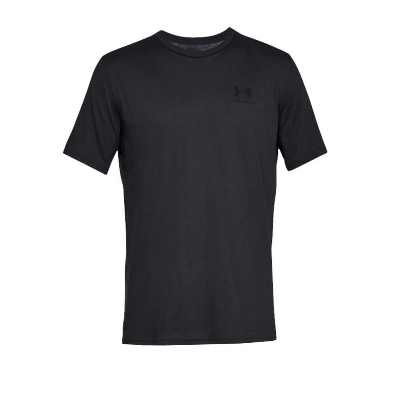 Under Armour Sportstyle Left Chest T-Shirt F001 - schwarz