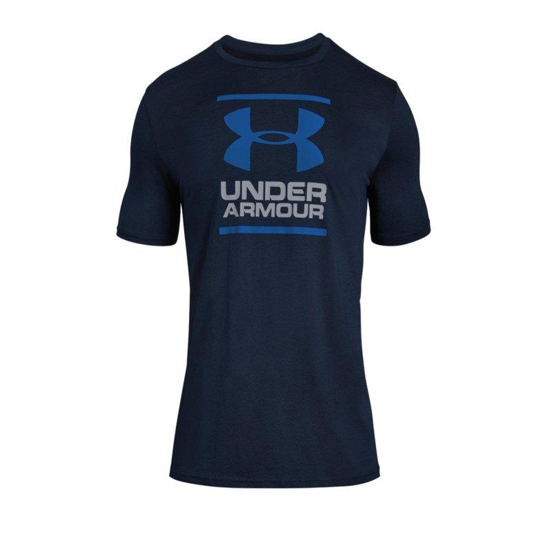 Under Armour GL Foundation T-Shirt Blau F408 - blau