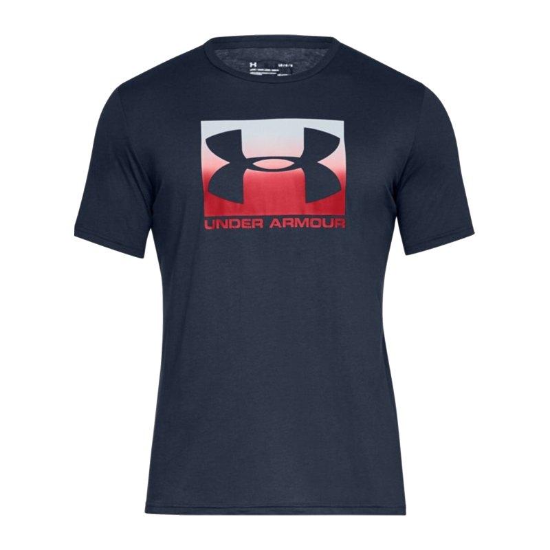 Under Armour Boxed Sportstyle T-Shirt Blau F408 - blau