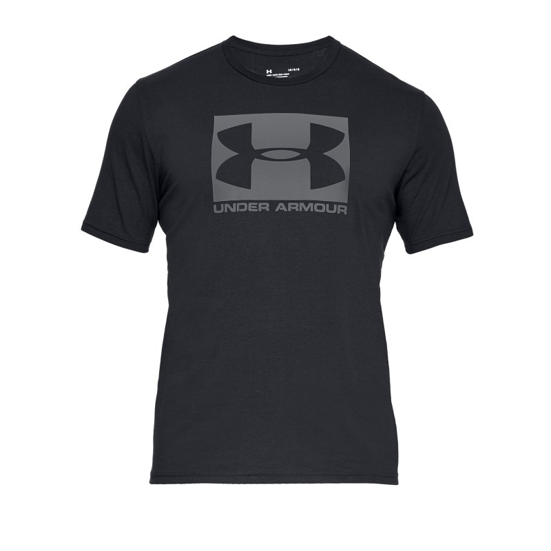 Under Armour Boxed Sportstyle T-Shirt F001 - Schwarz