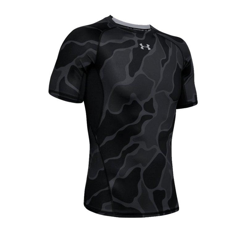Under Armour Heatgear Shortsleeve Shirt F002 - schwarz