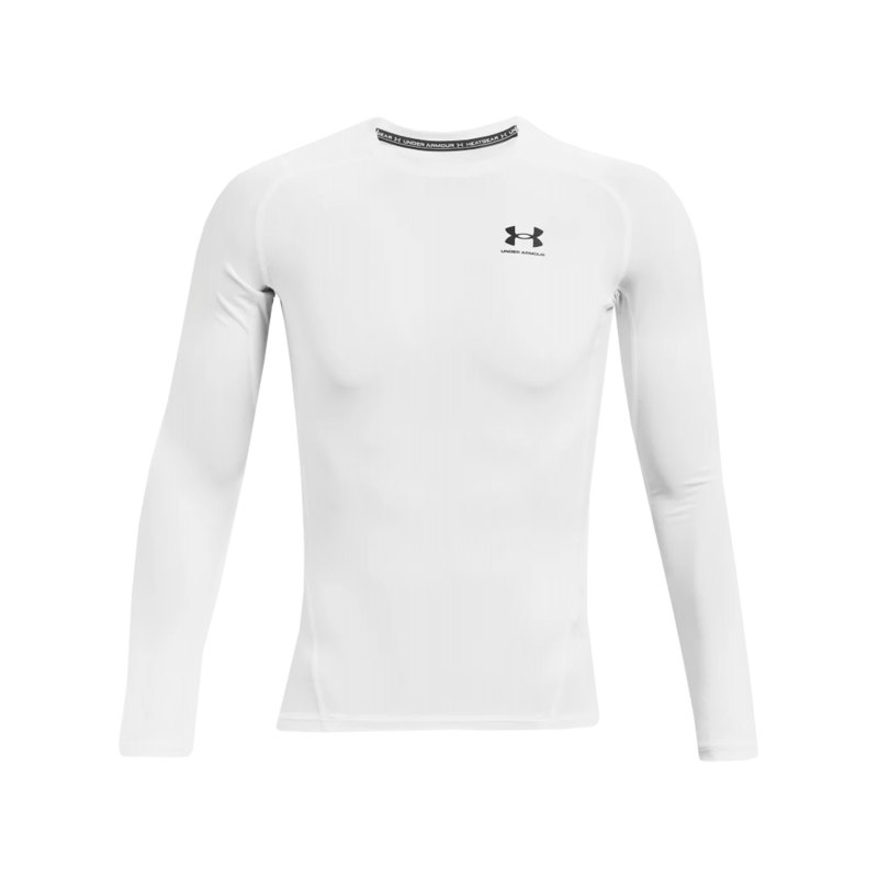 Under Armour HG Compression Langarmshirt F100 - weiss