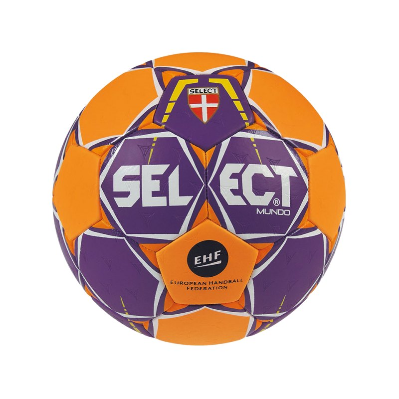 Select Trainingsball Mundo Gr.1 Lila Orange F996 - lila