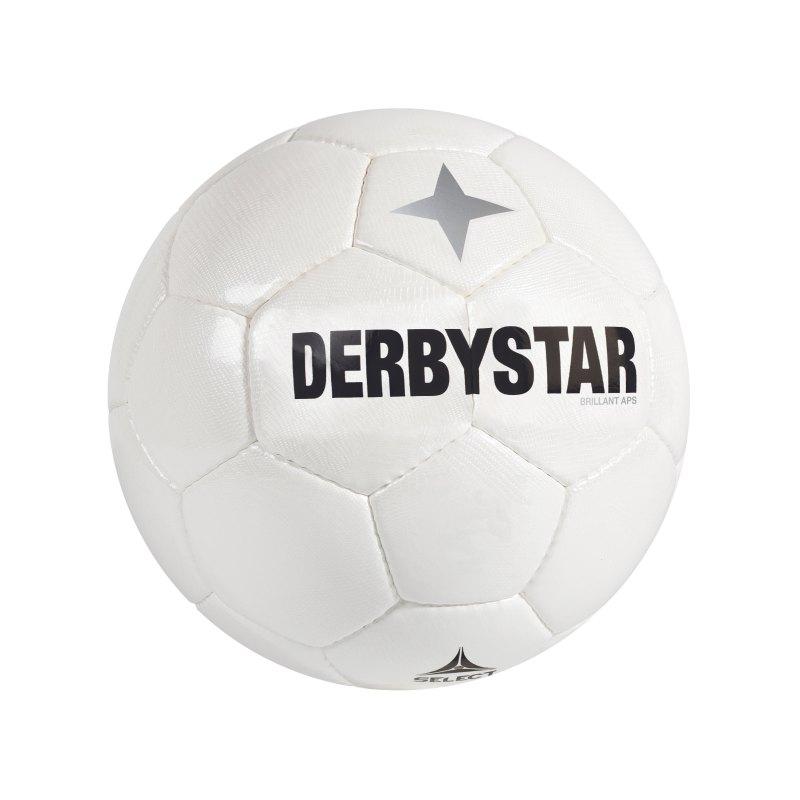 Derbystar Spielball Brillant APS Weiss - weiss