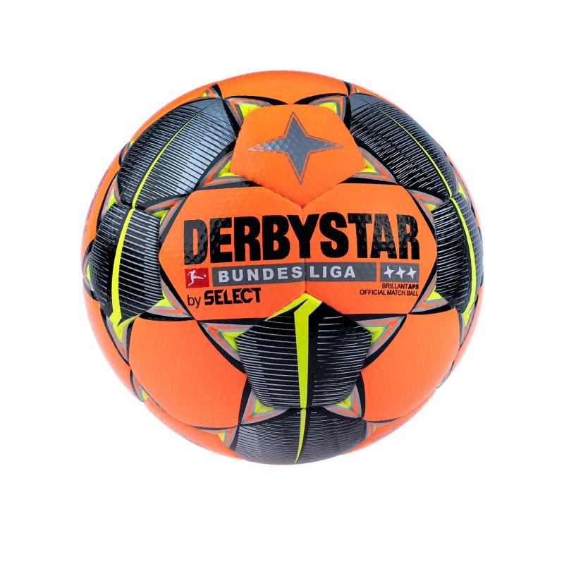 Derbystar Bundesliga Brillant APS Spielball Winter Orange F019 - orange
