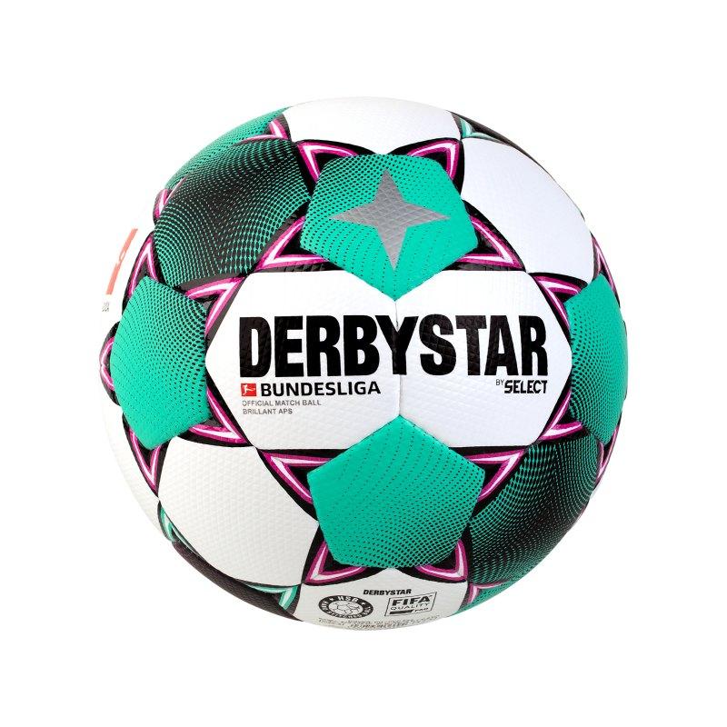 Derbystar Bundesliga Brillant APS Spielball Weiss F020 - weiss