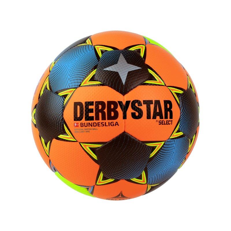Derbystar Bundesliga Brillant APS Winter Spielball Weiss F020 - orange