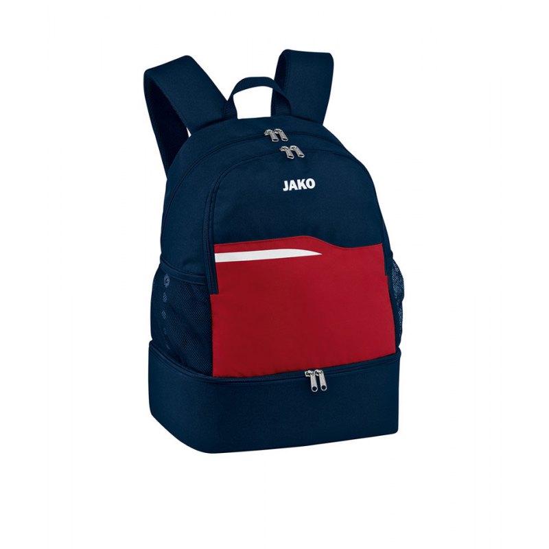 Jako Competition 2.0 Rucksack Blau Rot F09 - blau