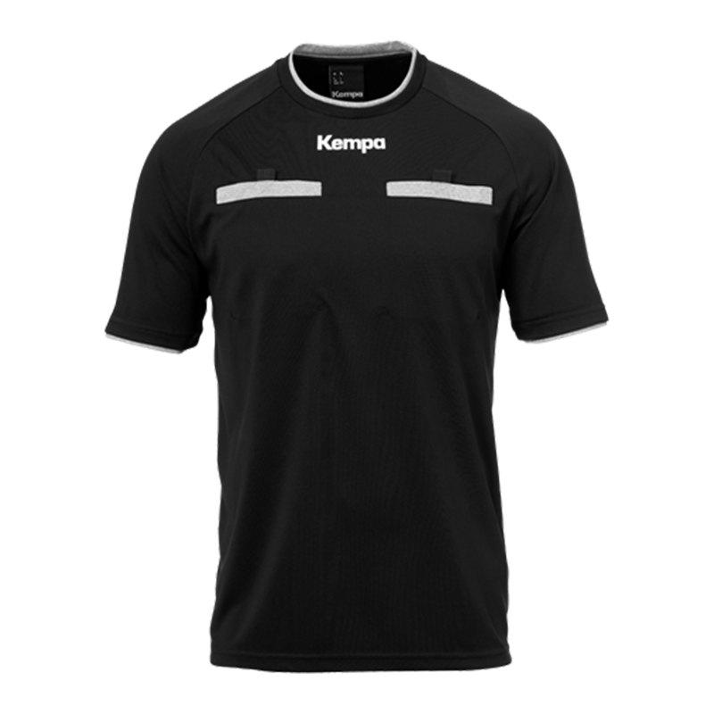 Kempa Schiedsrichtertrikot Schwarz F01 - schwarz