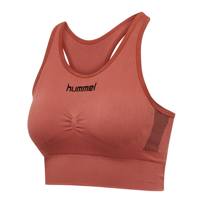 Hummel First Seamless Sport-BH Bra Damen Rot F3250 - rot