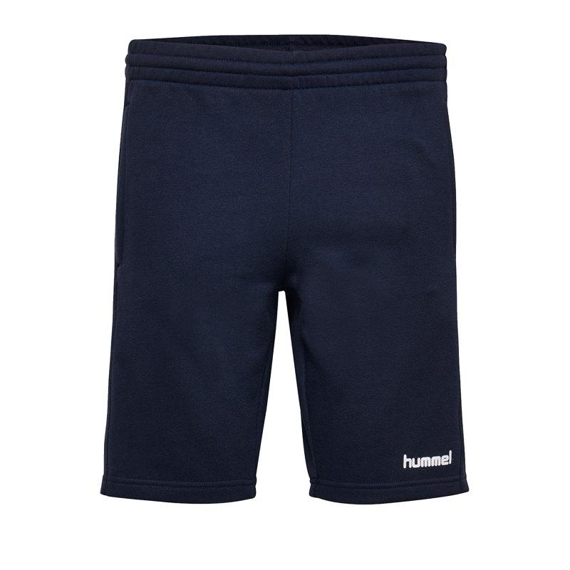 Hummel Cotton Bermuda Short Damen F7026 - Blau