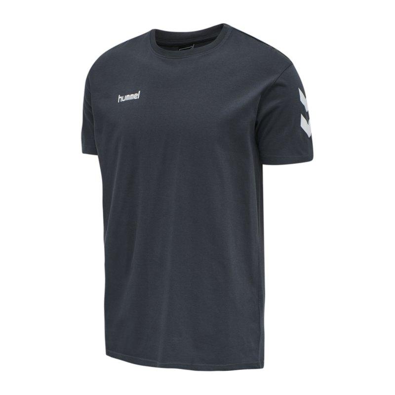 Hummel Cotton T-Shirt Grau F8571 - grau
