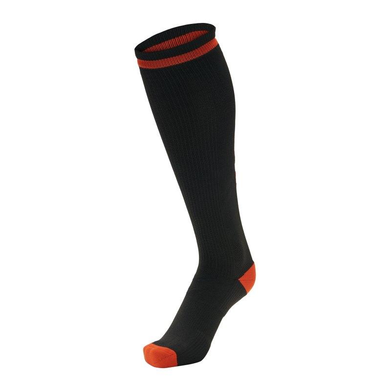 Hummel Elite Indoor Sock High Socken Schwarz F2025 - schwarz