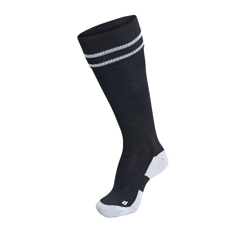 Hummel Football Sock Socken Schwarz F2114 - Schwarz