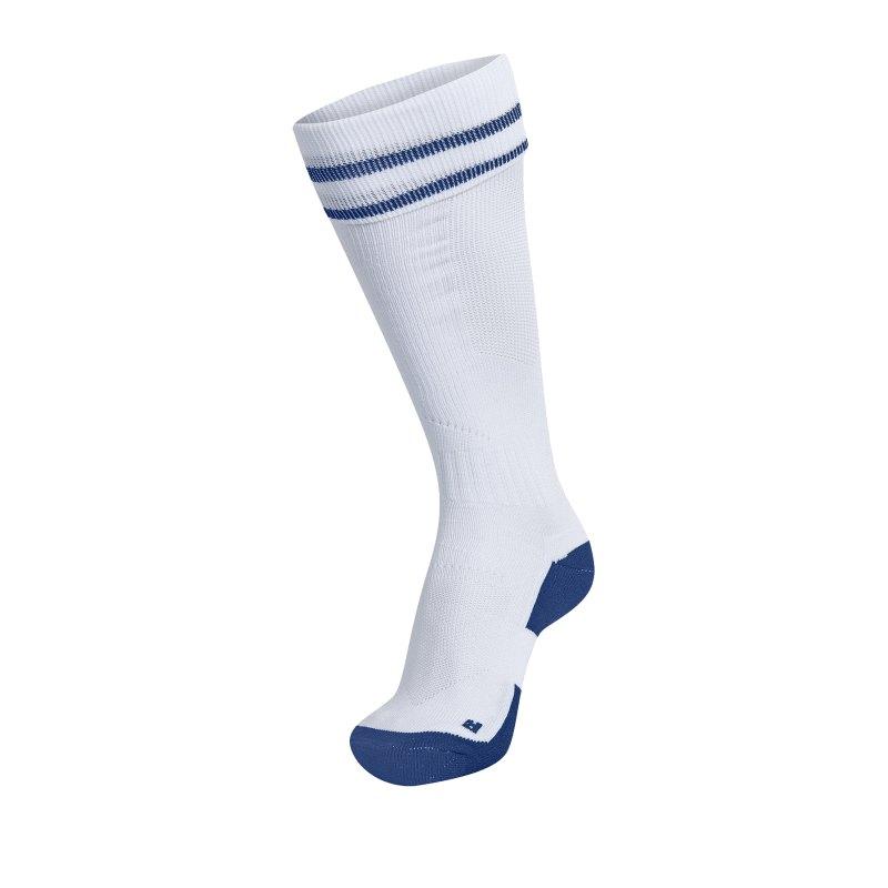 Hummel Football Sock Socken Weiss F9368 - Weiss