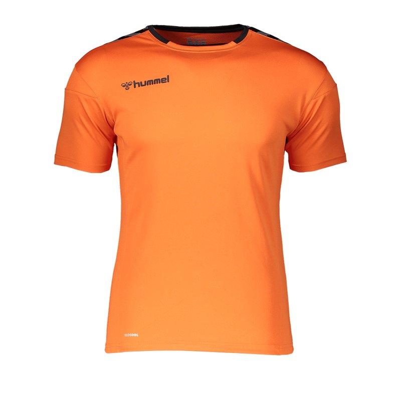Hummel Authentic Poly Trikot kurzarm Orange F5006 - orange