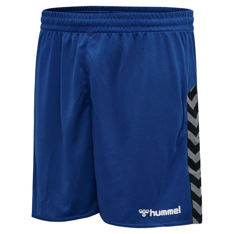 Hummel Authentic Poly Short Blau F7045 - blau