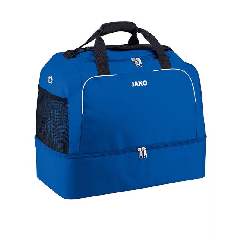 Jako Sporttasche Classico mit Bodenfach Gr. 2 F04 - blau