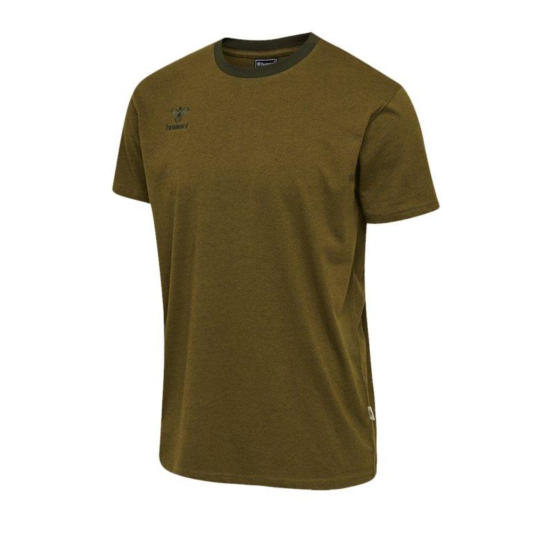Hummel Move T-Shirt Kids Grün F6086 - gruen