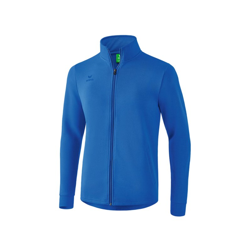 Erima Casual Basics Sweatjacke Blau - blau