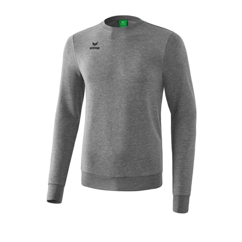 Erima Basic Sweatshirt Grau - grau