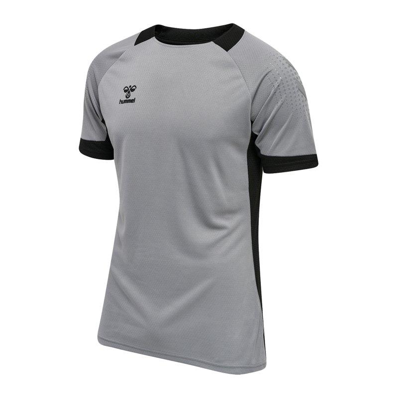 Hummel hmlLEAD Trainingsshirt Grau F2006 - grau