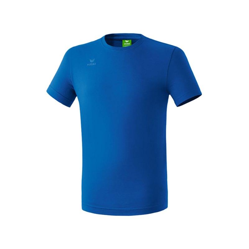 Erima Teamsport T-Shirt Kids Blau - blau