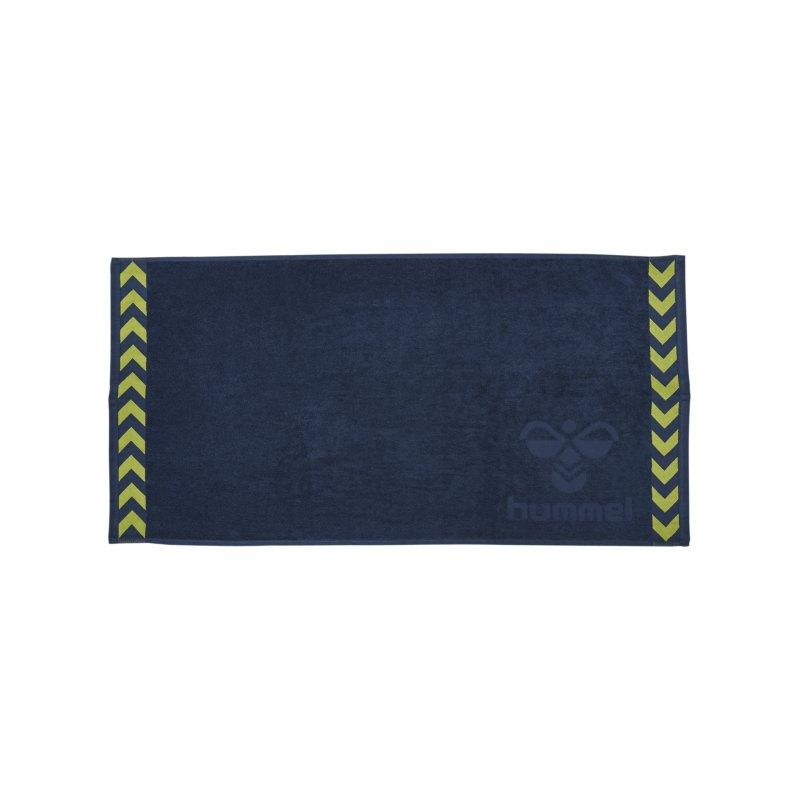 Hummel Old School Small Towel Handtuch F6616 - blau
