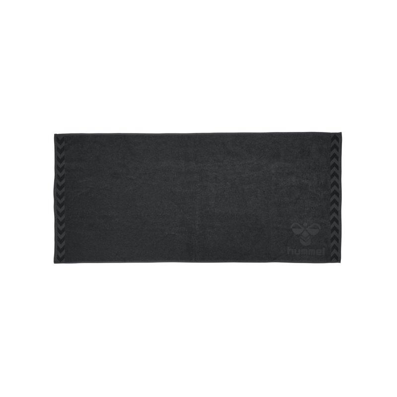 Hummel Large Towel Handtuch Grau F1525 - grau