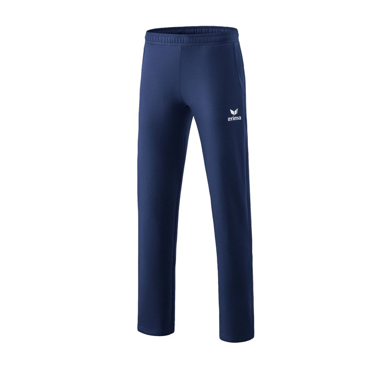 Erima Essential 5-C Sweatpant Blau Weiss - Blau