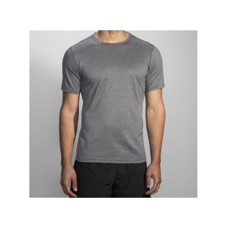 Brooks Ghost Tee T-Shirt Running Grau F020 - grau