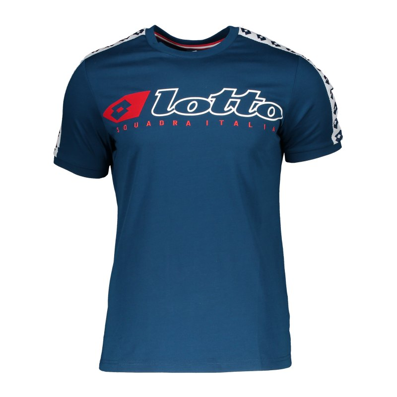 Lotto Athletica Due Tee T-Shirt Blau F60C - blau