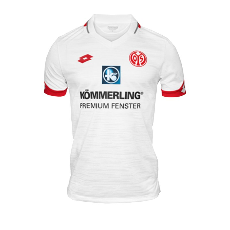 Lotto 1. FSV Mainz 05 Trikot Away 2019/2020 Weiss - weiss