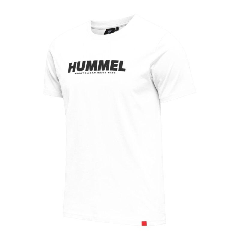 Hummel Legacy T-Shirt Weiss F9001 - weiss