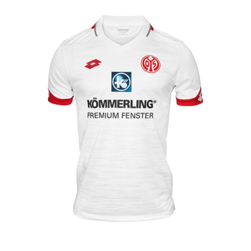 Lotto 1. FSV Mainz 05 Trikot Away 2019/2020 KidsWeiss - weiss