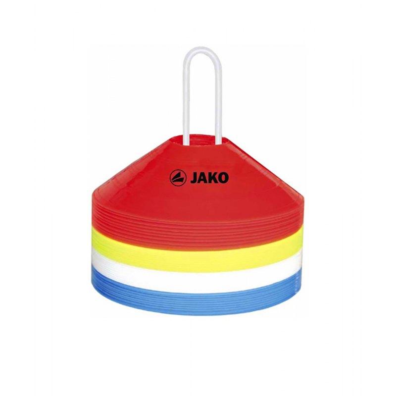 Markierungshütchen Jako 40er Set F02 - rot