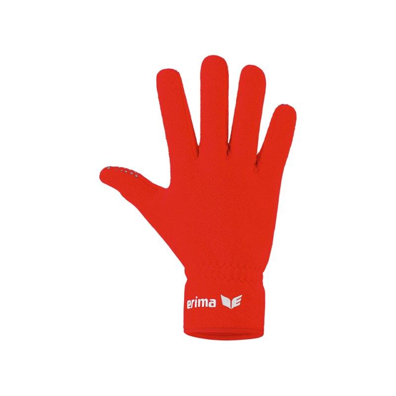 Erima Feldspielerhandschuh Rot - rot
