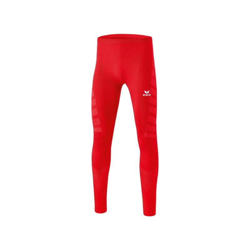 Erima Tight Functional Lang Kinder Rot - rot