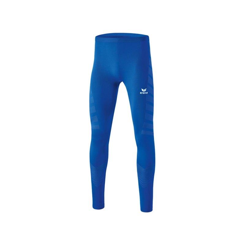 Erima Tight Functional Lang Blau - blau