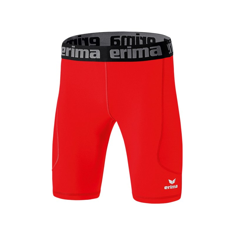 Erima Tight Elemental kurz Kinder Rot - rot
